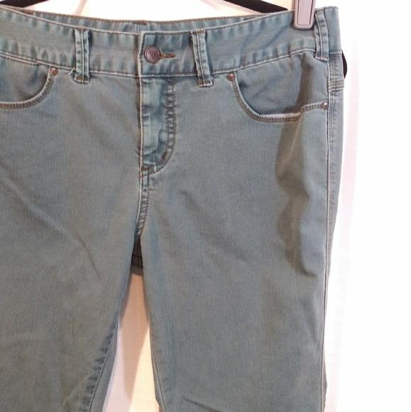 Free People Denim - Free People Teal Skinny Jeans. Size 30